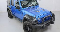 2015(65) DERANGED™ Wrangler 2.8 CRD 240 BHP Hydro Blue Edition – Ex demo