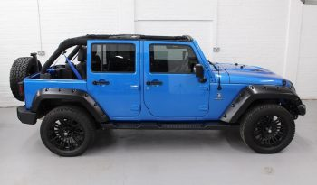 2015(65) DERANGED™ Wrangler 2.8 CRD 240 BHP Hydro Blue Edition – Ex demo full
