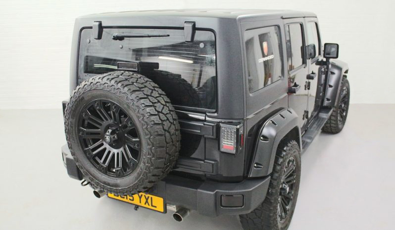 2015(15) DERANGED™ Wrangler 2.8 CRD Blackout Edition – Ex Demo full