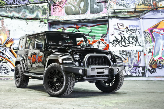 deranged jeep - customised 4x4