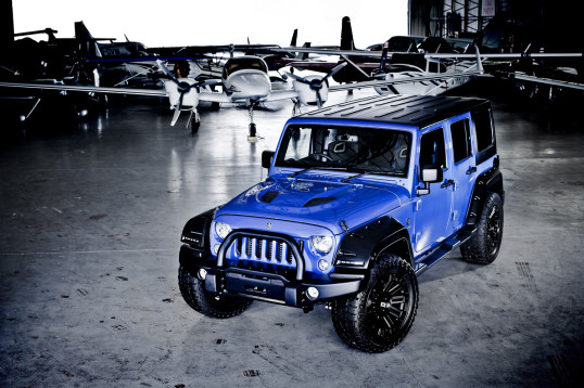 deranged jeep - customised jeep1