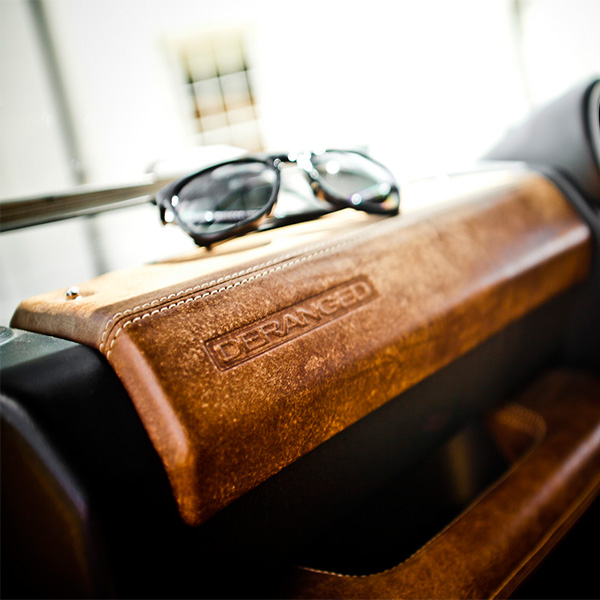 Premium Leather Dash Pods And Grab Handle For Deranged