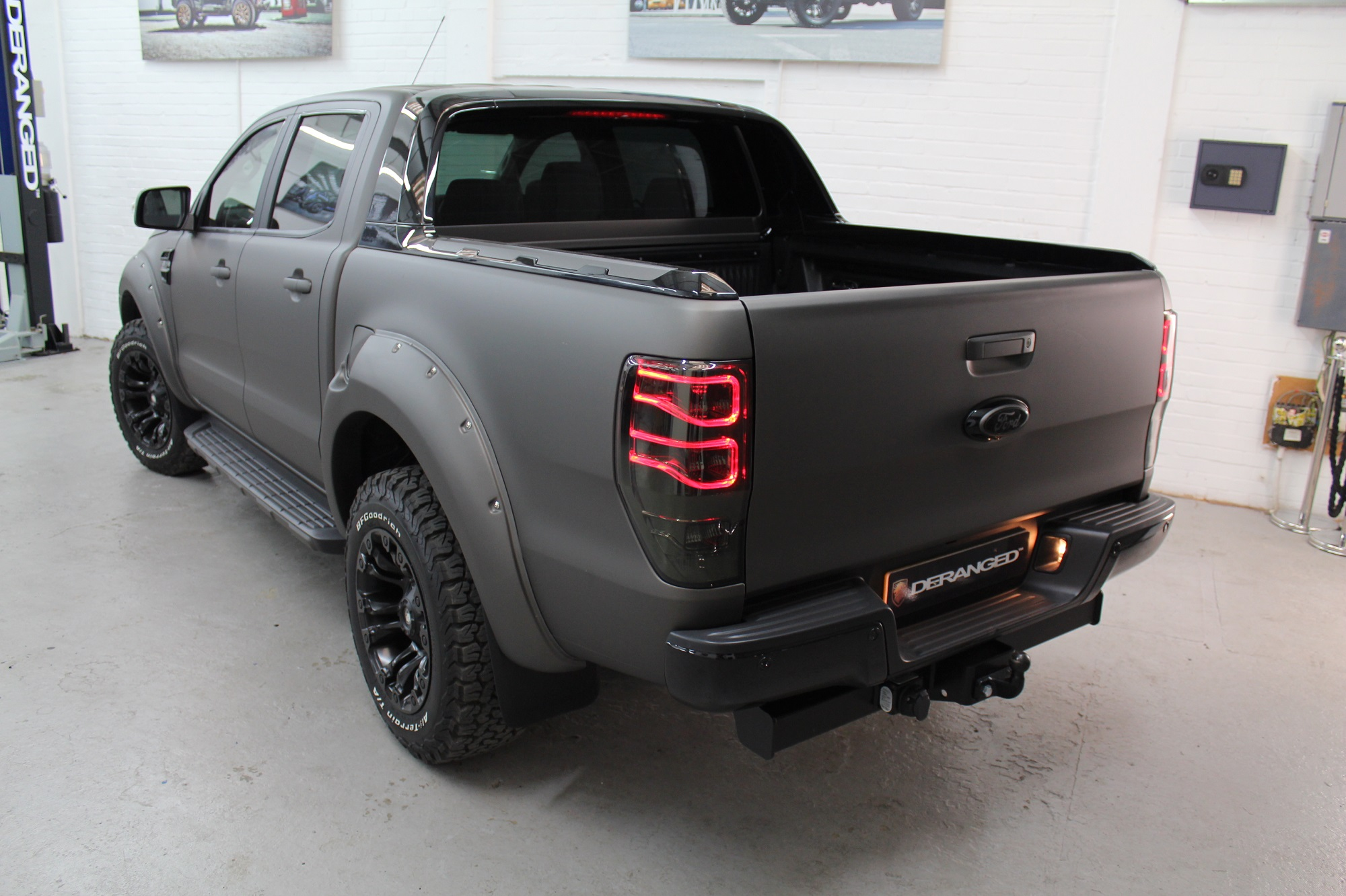 Ford Ranger White 2017 >> 2018(18) DERANGED™ Ford Ranger 4x4 DCB 3.2 TDCI Auto | Deranged Vehicles.