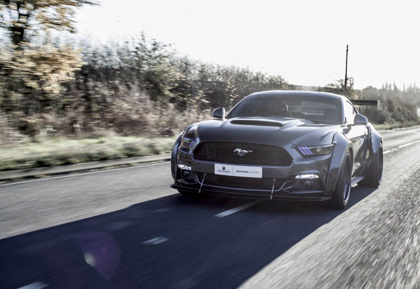Deranged Vehicles Supercharged Custom Ford Mustang UK