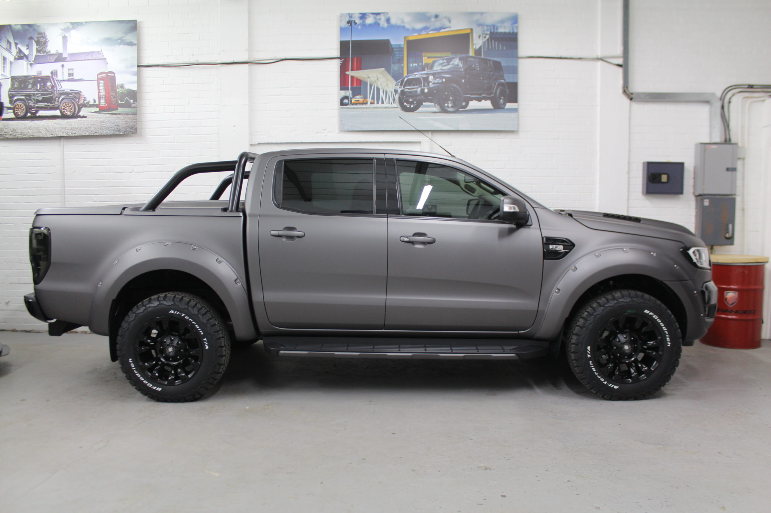 201868 Deranged Ford Ranger 32 Tdci Limited 2 Double Cab Pick Up 1953 Crew