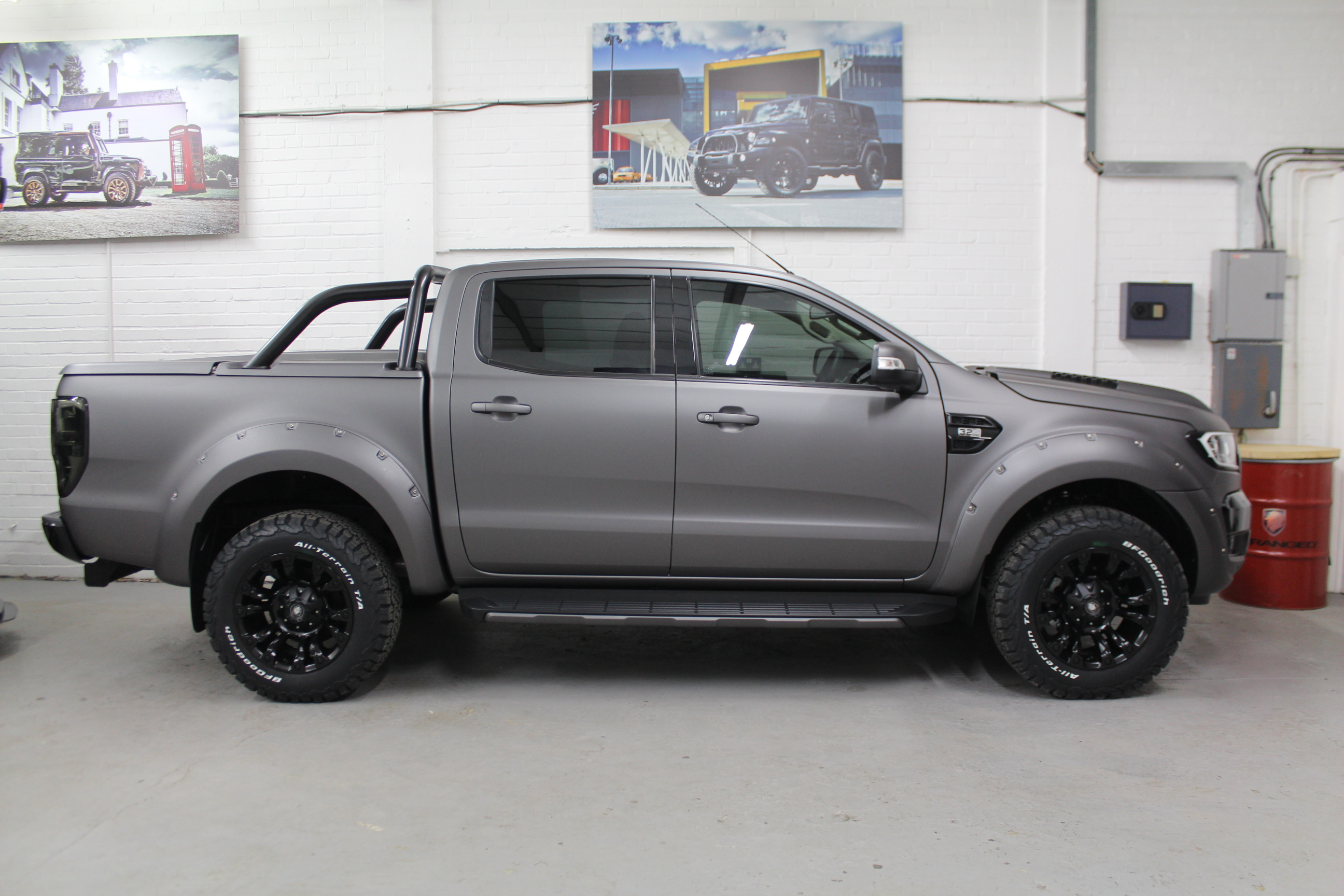 2018 18 Deranged Ford Ranger 3 2 Tdci Limited 2 Double