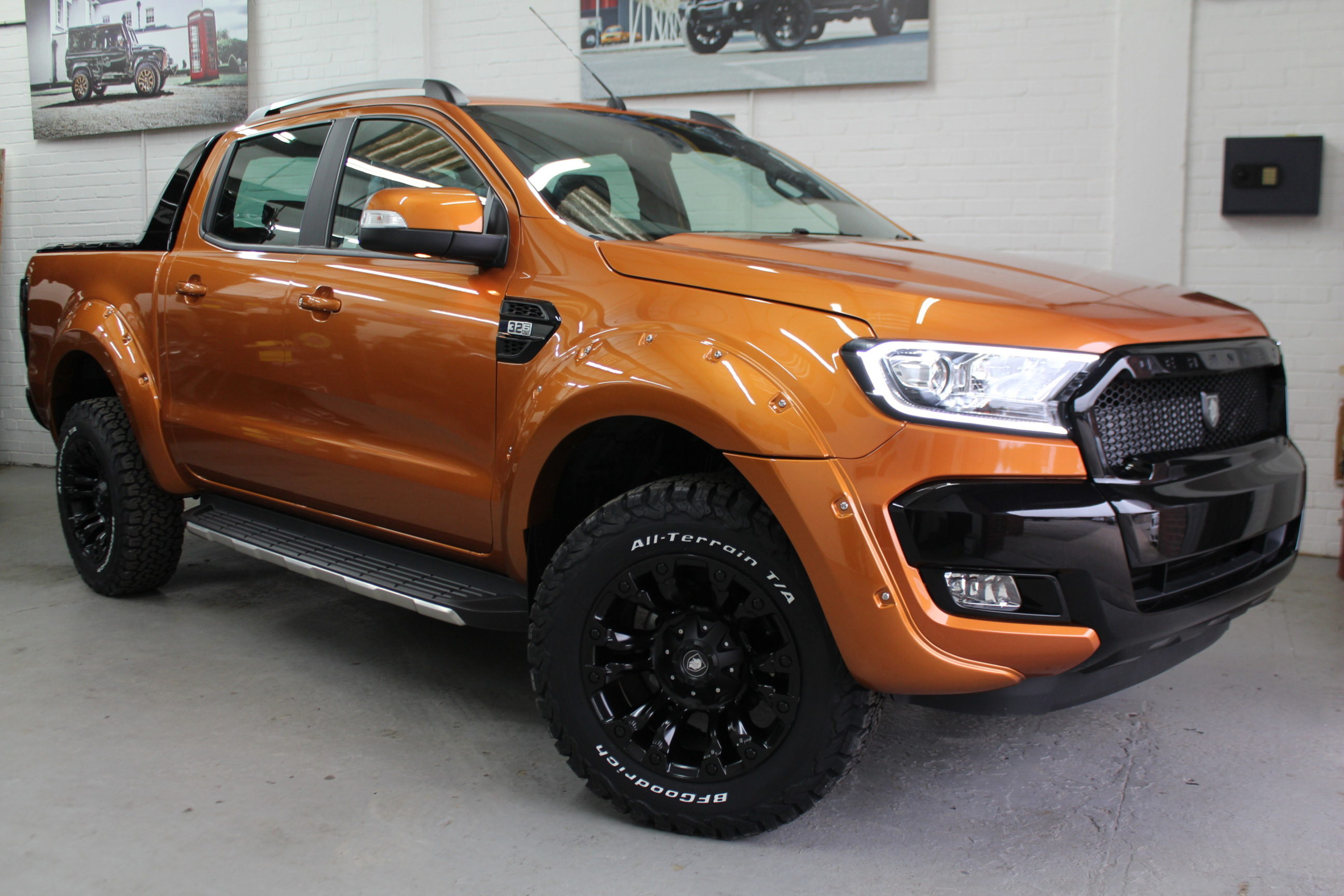 2019 19 Deranged Ford Ranger 3 2 Tdci Limited 2 Double