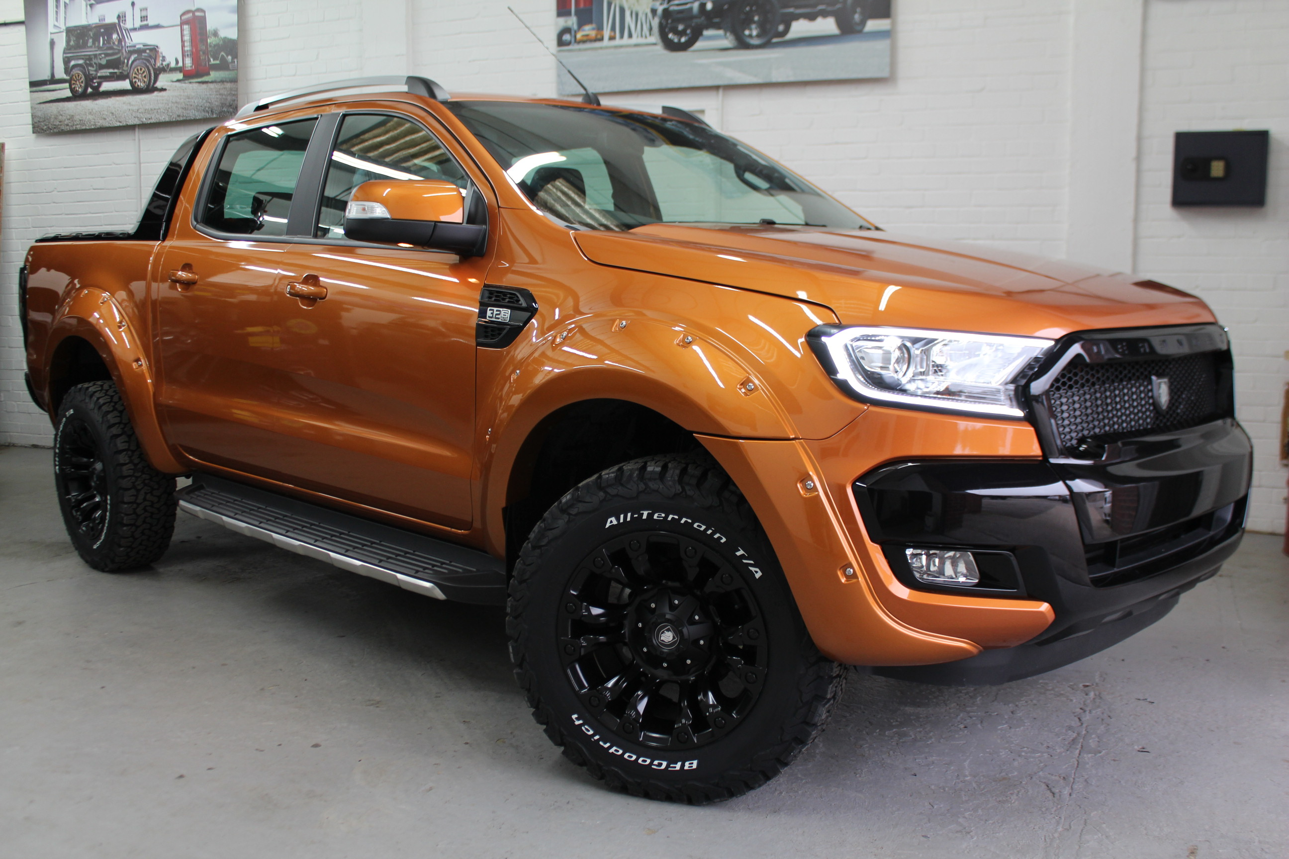 2018 18 deranged ford ranger 3 2 tdci limited 2 double cab pick up 4x4 4dr deranged vehicles. Black Bedroom Furniture Sets. Home Design Ideas