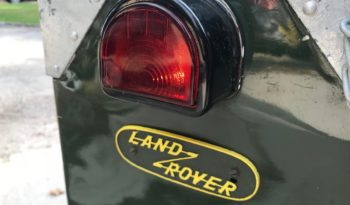1950 LAND ROVER 80 SERIES 1 full