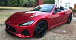 2018(18) Maserati Grancabrio MC Auto