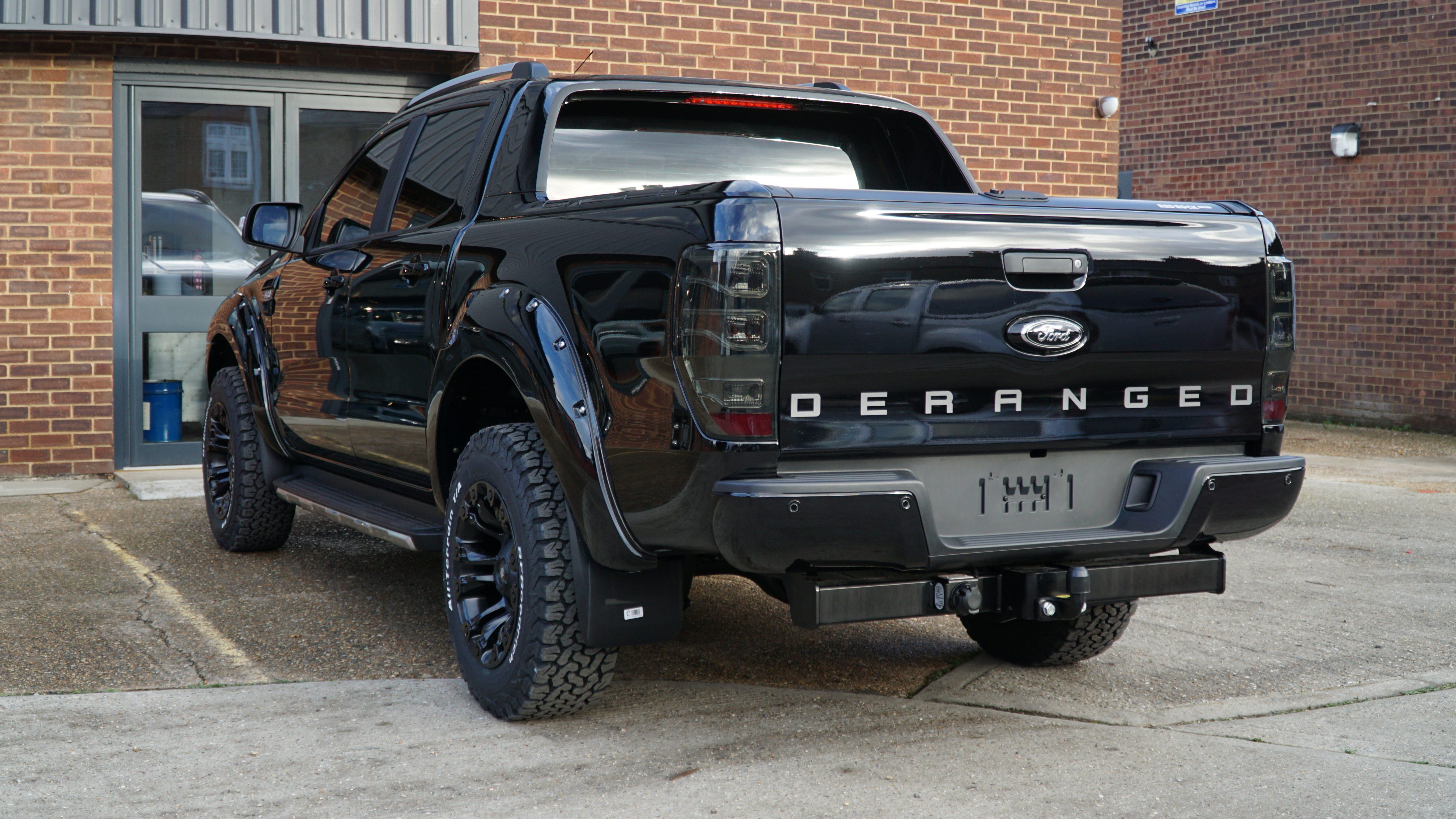 Deranged Custom Ranger Modified Pickup Truck Ford