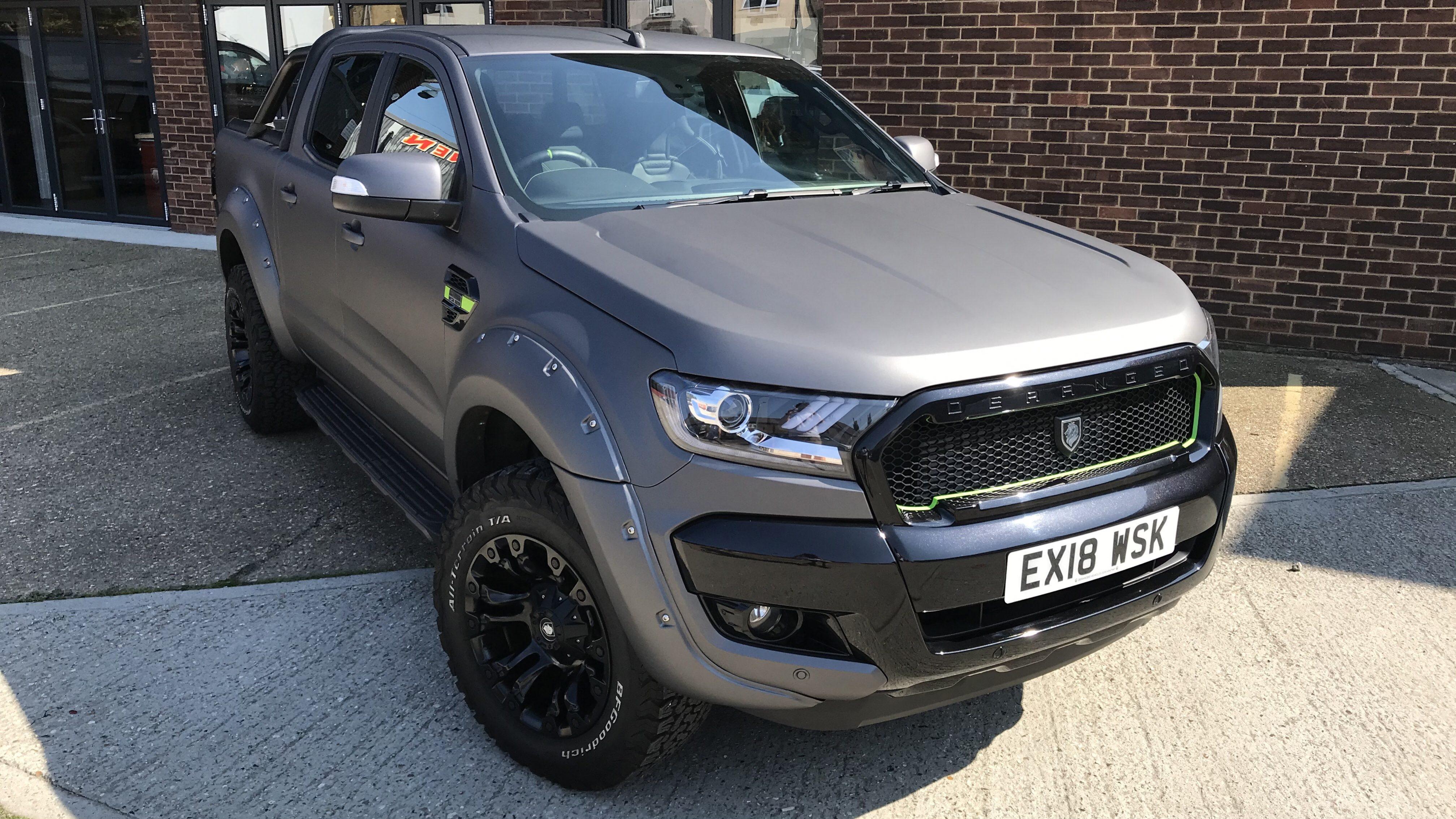 2018 18 Deranged Ranger 3 2 Tdci Auto Ultimate Edition Deranged Vehicles