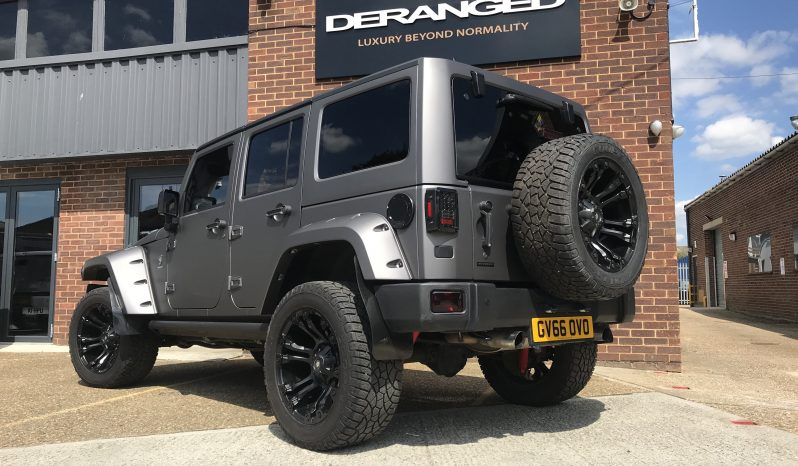 2016(66) DERANGED™ Wrangler 3.6 V6 Supercharged full