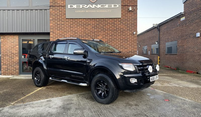 2015(65) Ford Ranger 3.2 TDCi Wildtrak Double Cab Pick up 4×4 4dr full