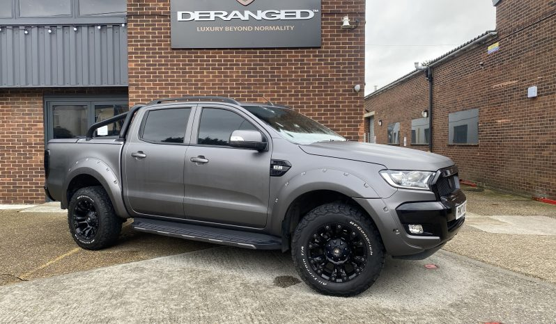 2017(17) DERANGED™ Ranger 3.2 TDCi AUTO Wildtrak Blackout Edition full