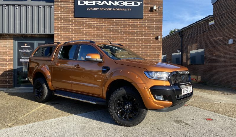 2017(66) DERANGED™ Ranger 3.2 TDCi AUTO Wildtrak Blackout Edition full